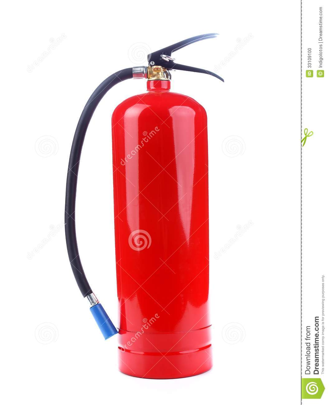 What chemical is in a fire extinguisher