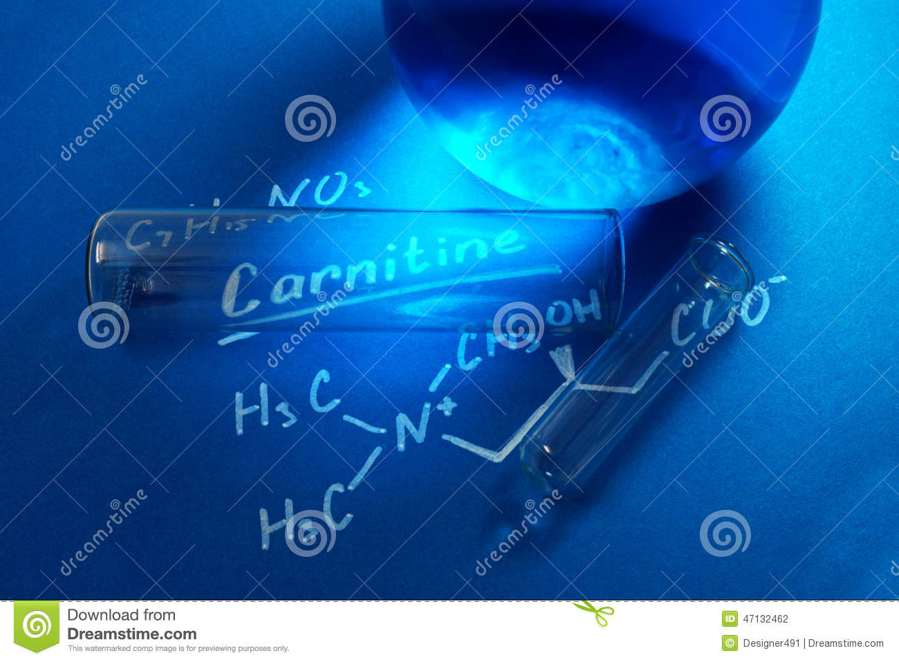 The chemical formula of carnitine