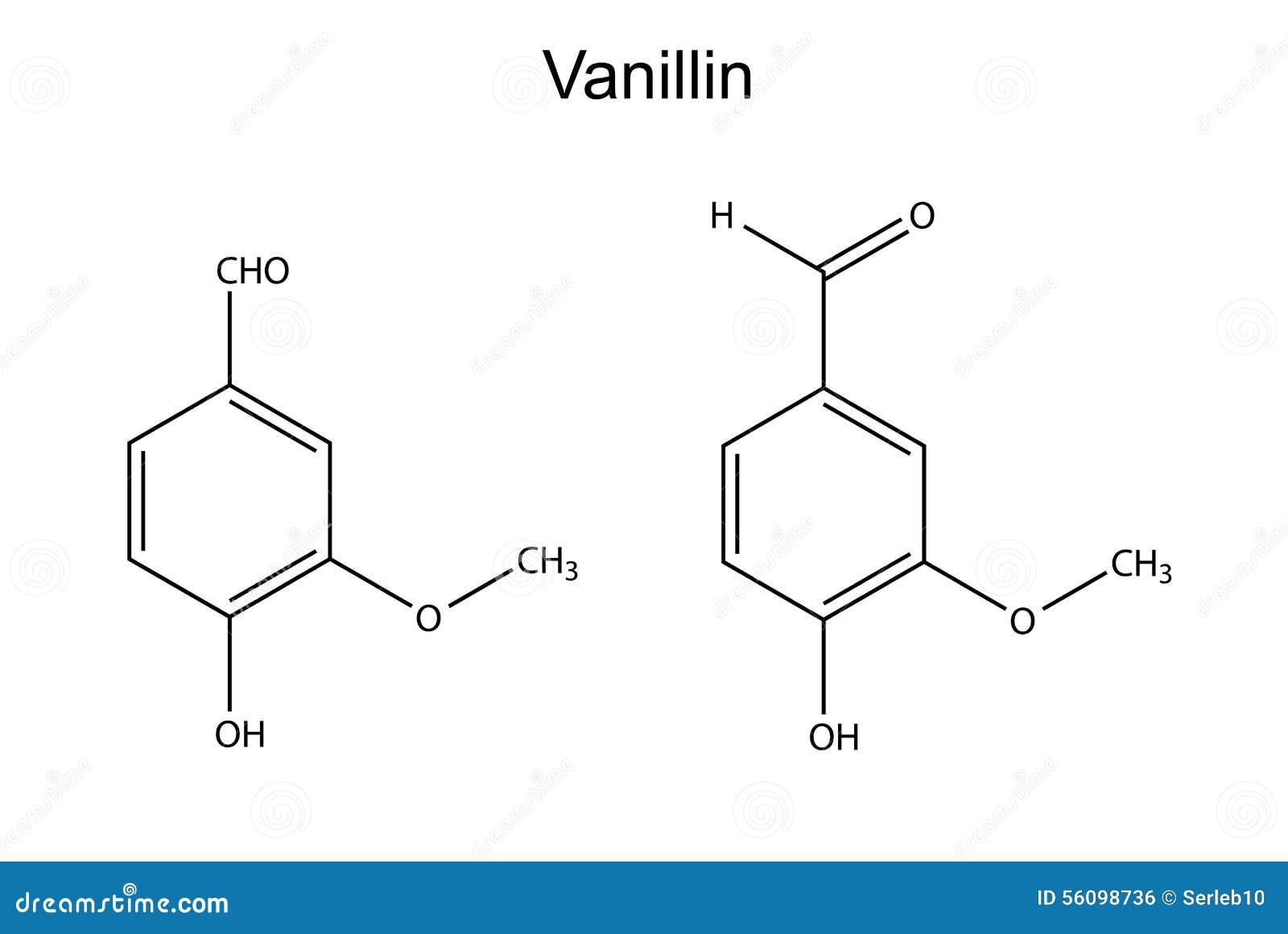 Chemical formula of vanillin molecule flavor enhancer stock chemical formula of vanillin molecule flavor enhancer pooptronica