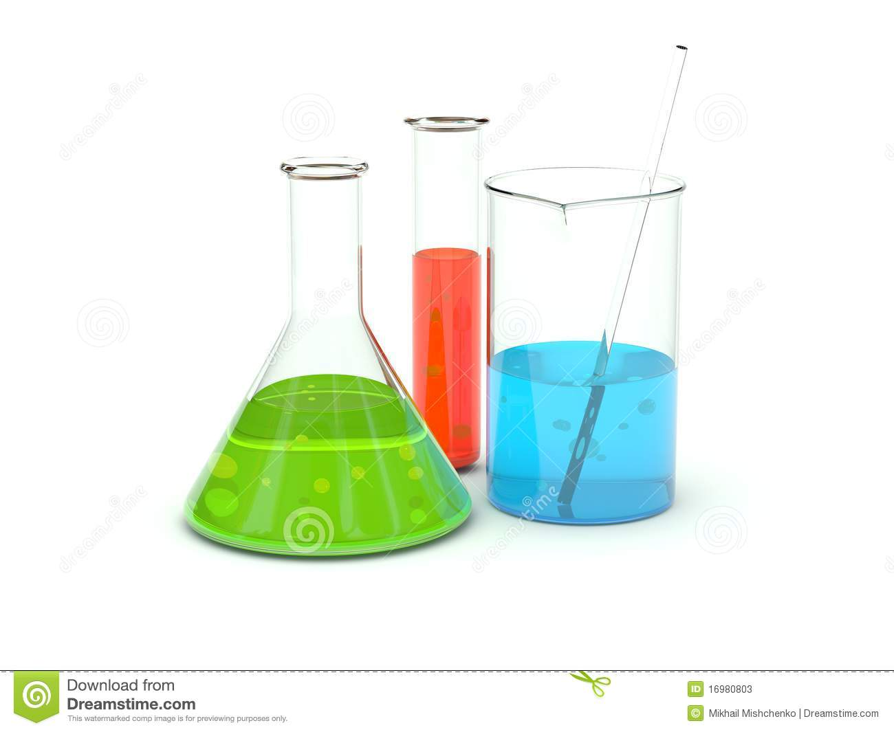 Chemical Glassware Stock Photos - Image: 16980803