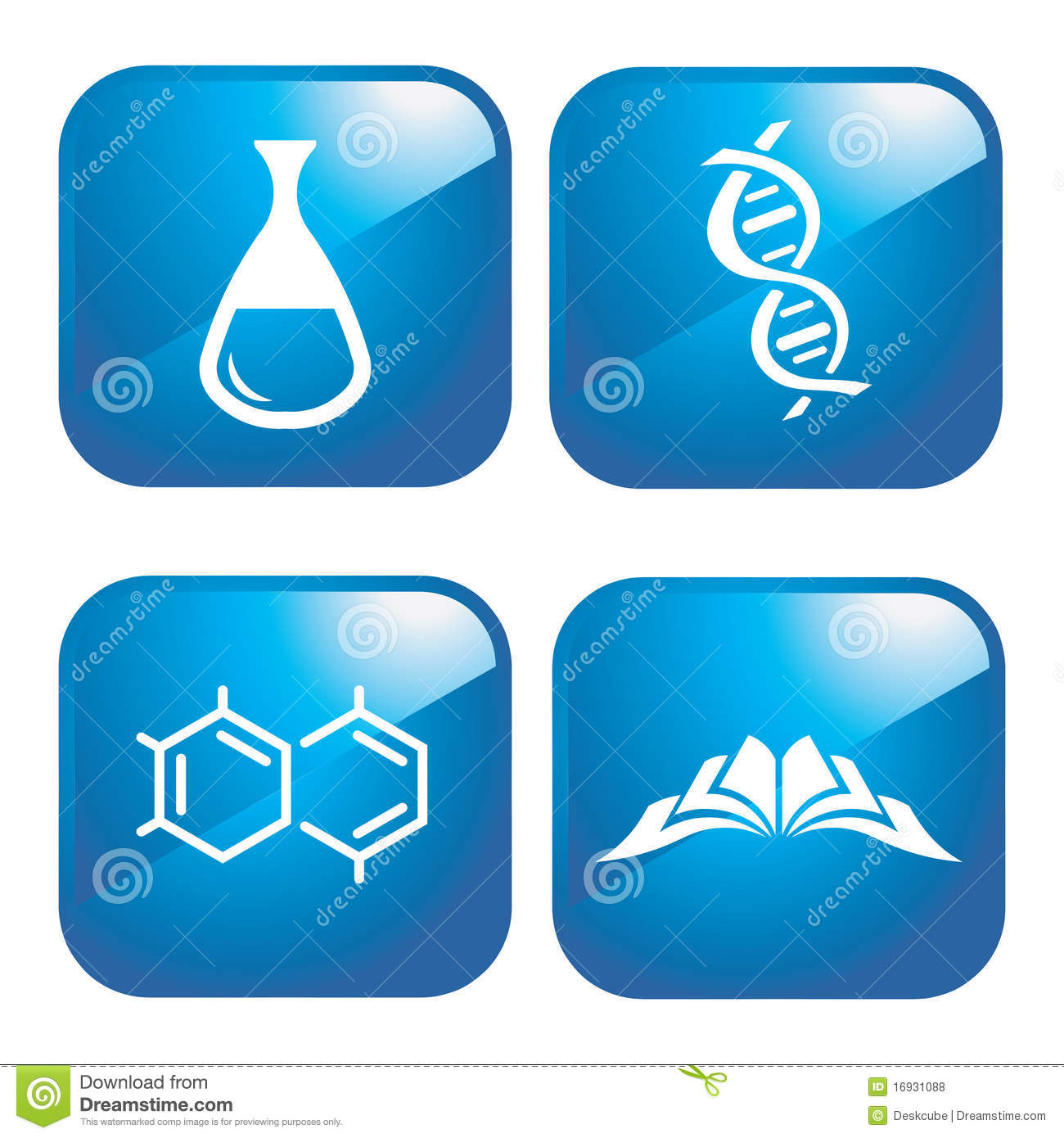 Chemical Icons Royalty Free Stock Photos Image 16931088