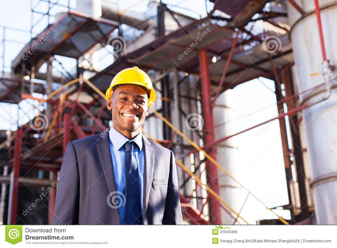 chemical industry worker