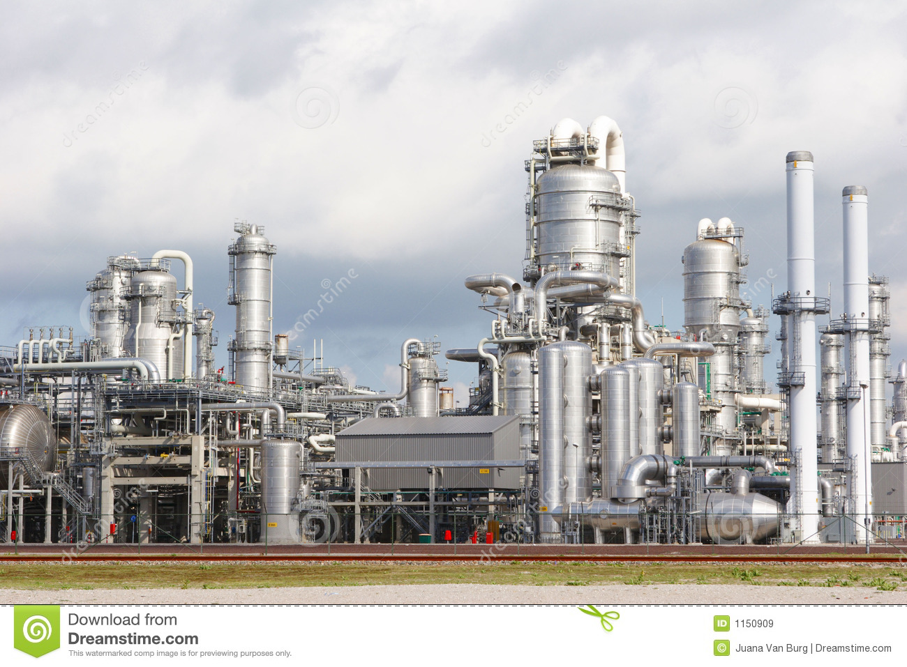 Chemical Plant Royalty Free Stock Images Image 1150909