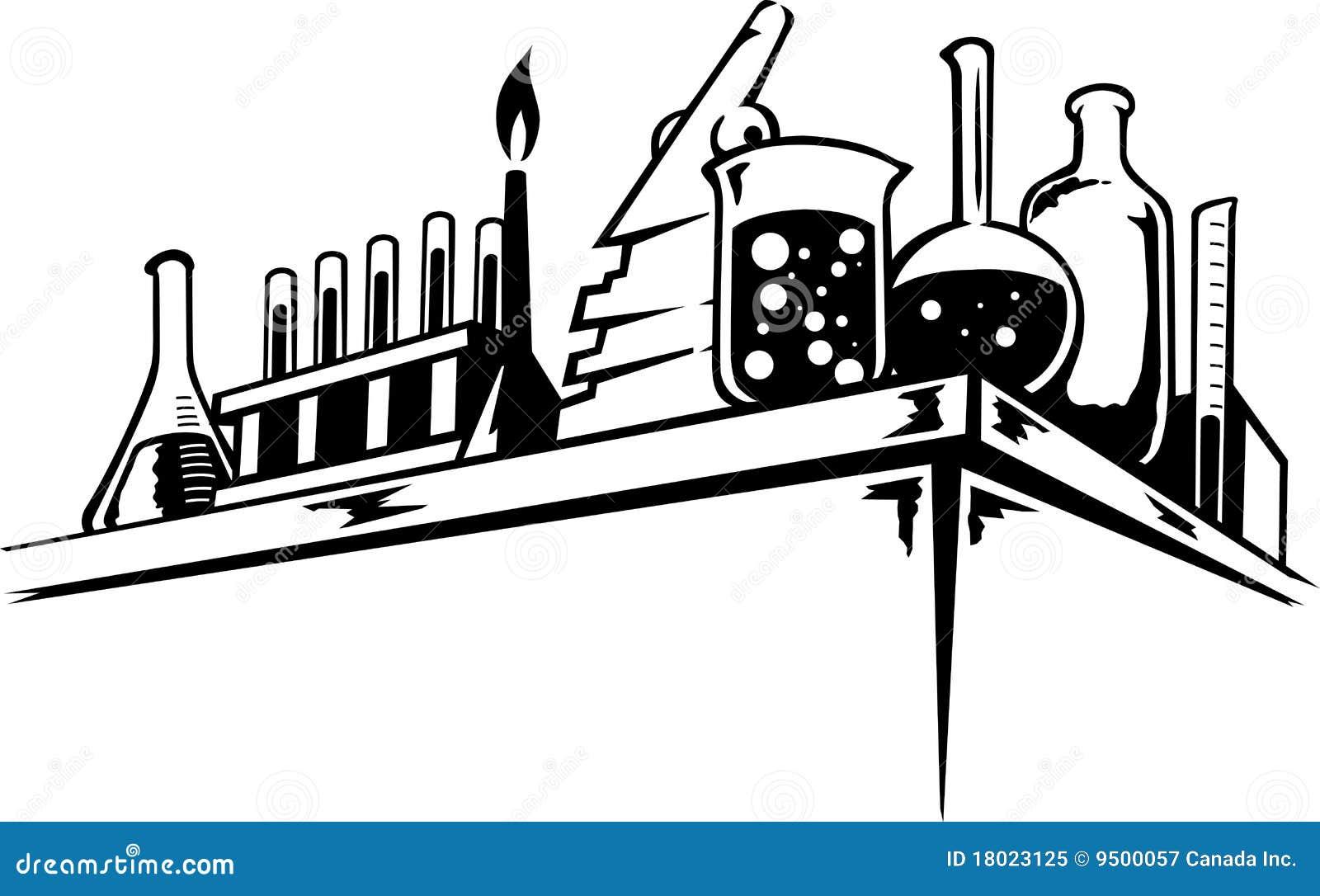 lab, chemical, laboratory, scientist, people, user, flask ... |Lab Chemist Drawings
