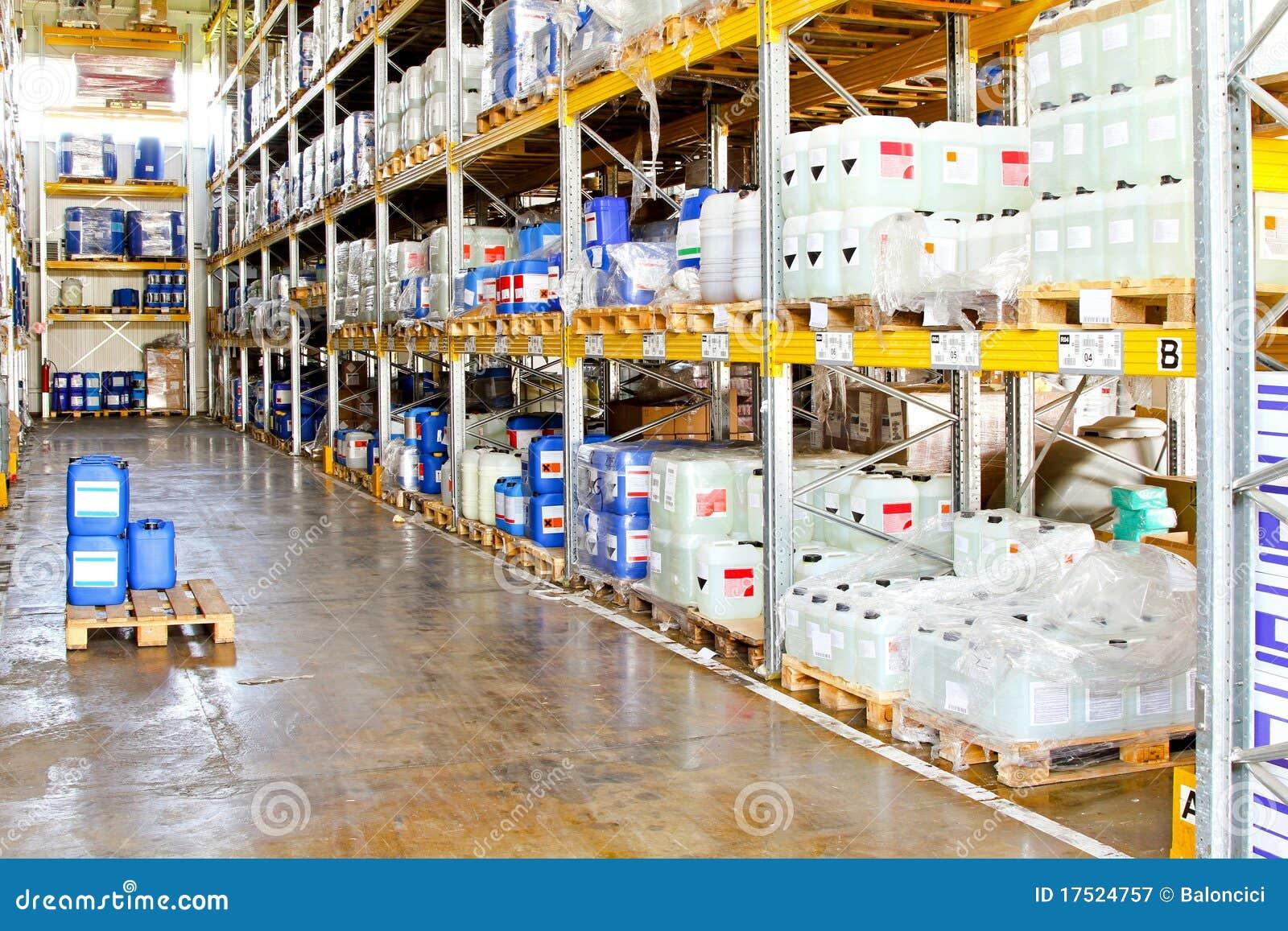 Chemical warehouse