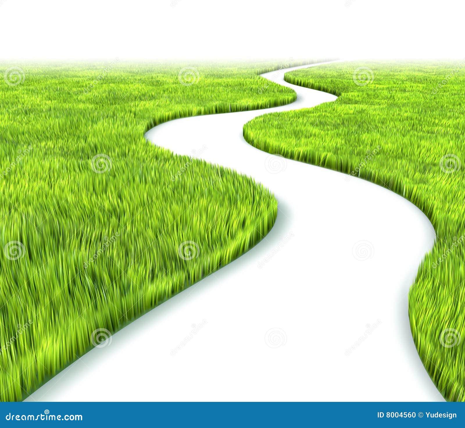 chemin dans l 39 herbe illustration stock illustration du labyrinthe 8004560. Black Bedroom Furniture Sets. Home Design Ideas