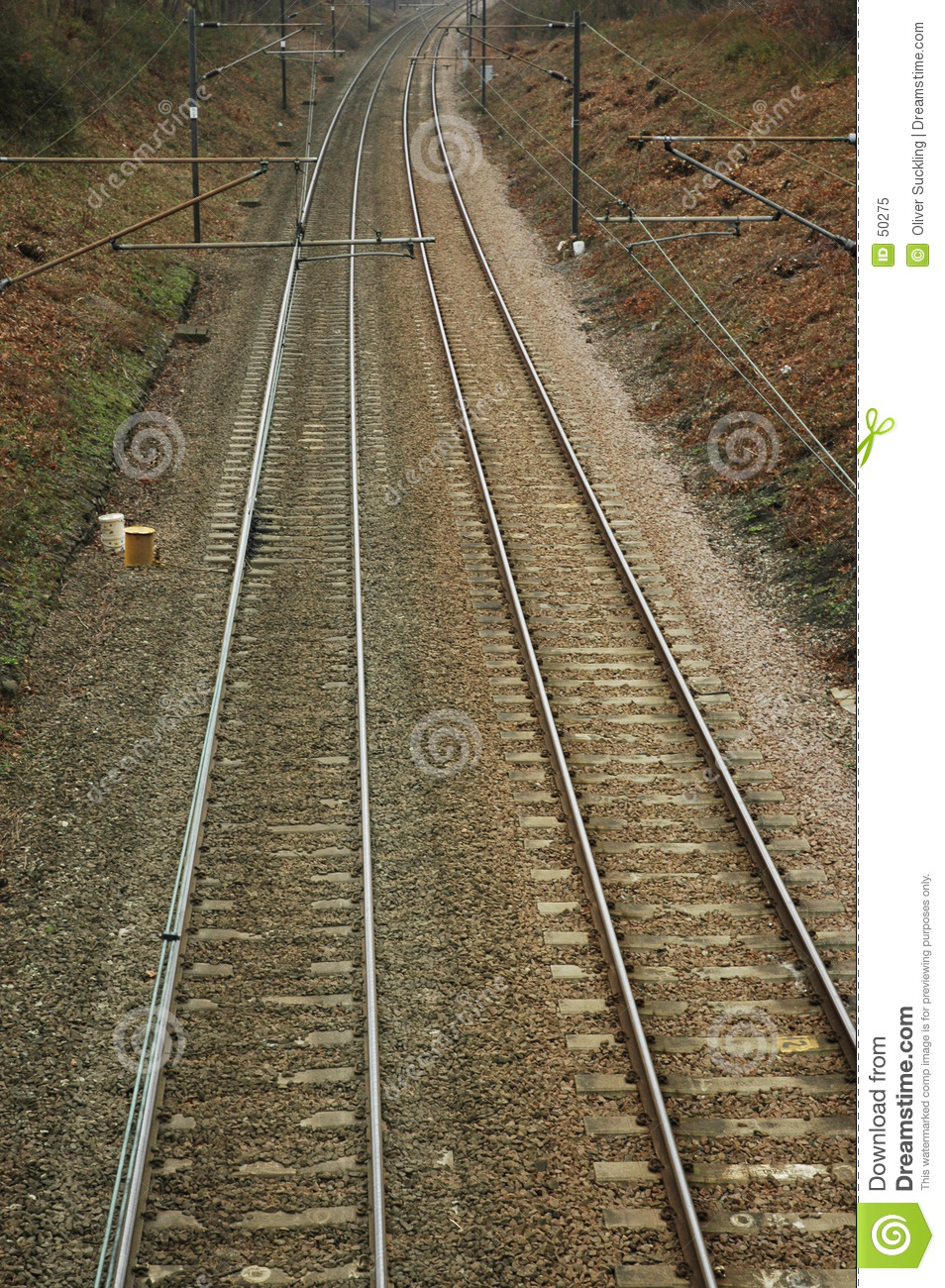 Download Chemin de fer image stock. Image du railway, alongside, pistes - 50275