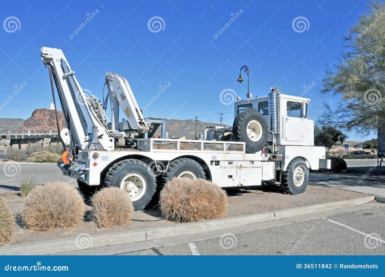 Chemin de fer Crane Truck