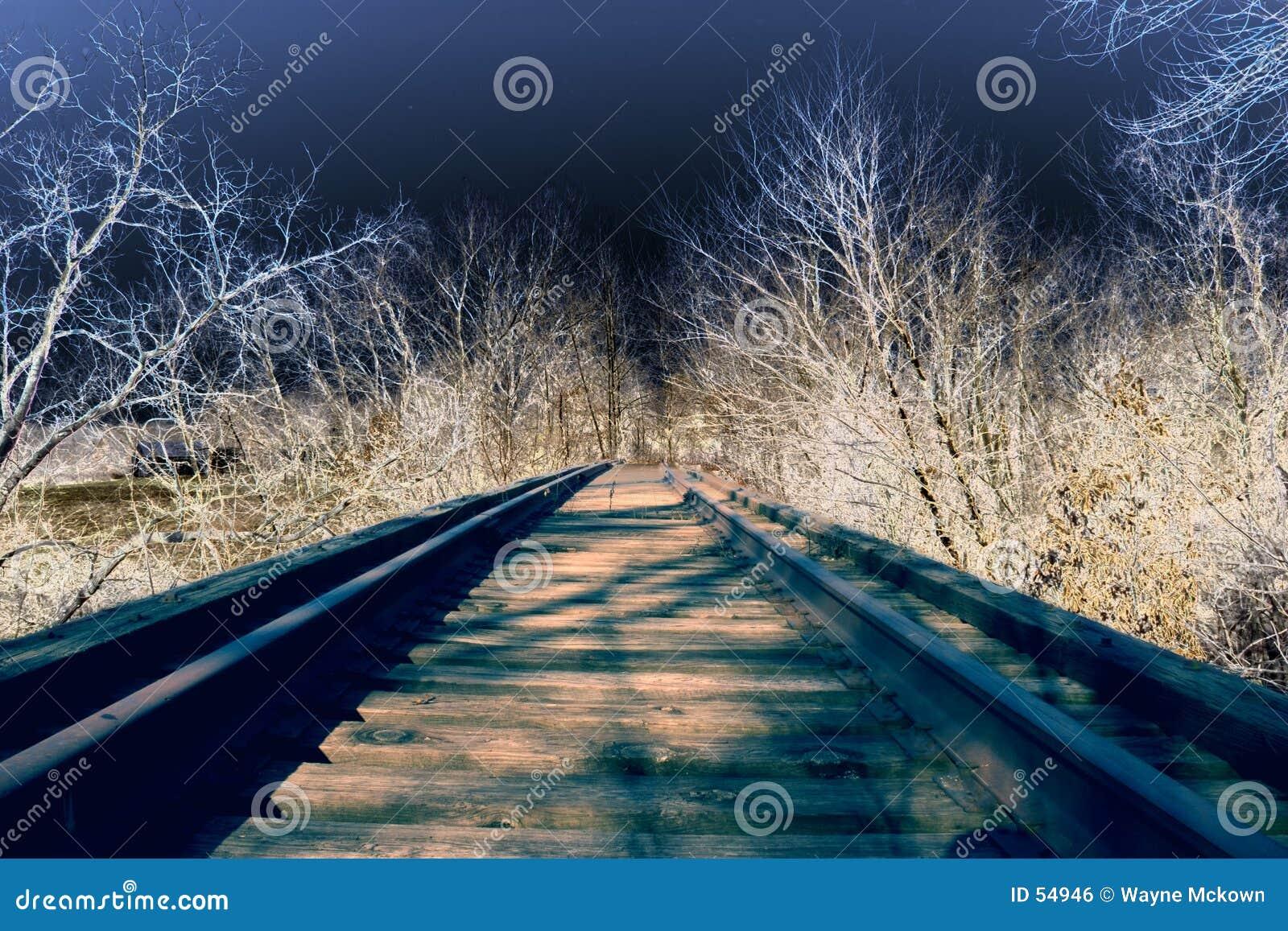 Download Chemin de fer de Solorized photo stock. Image du locomotive - 54946