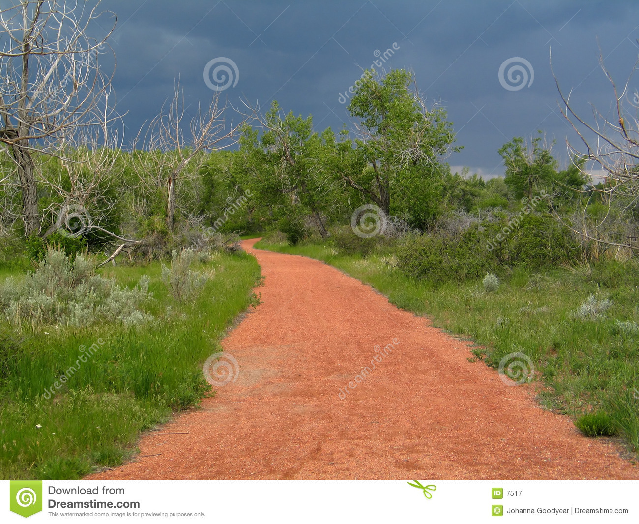 Chemin rouge