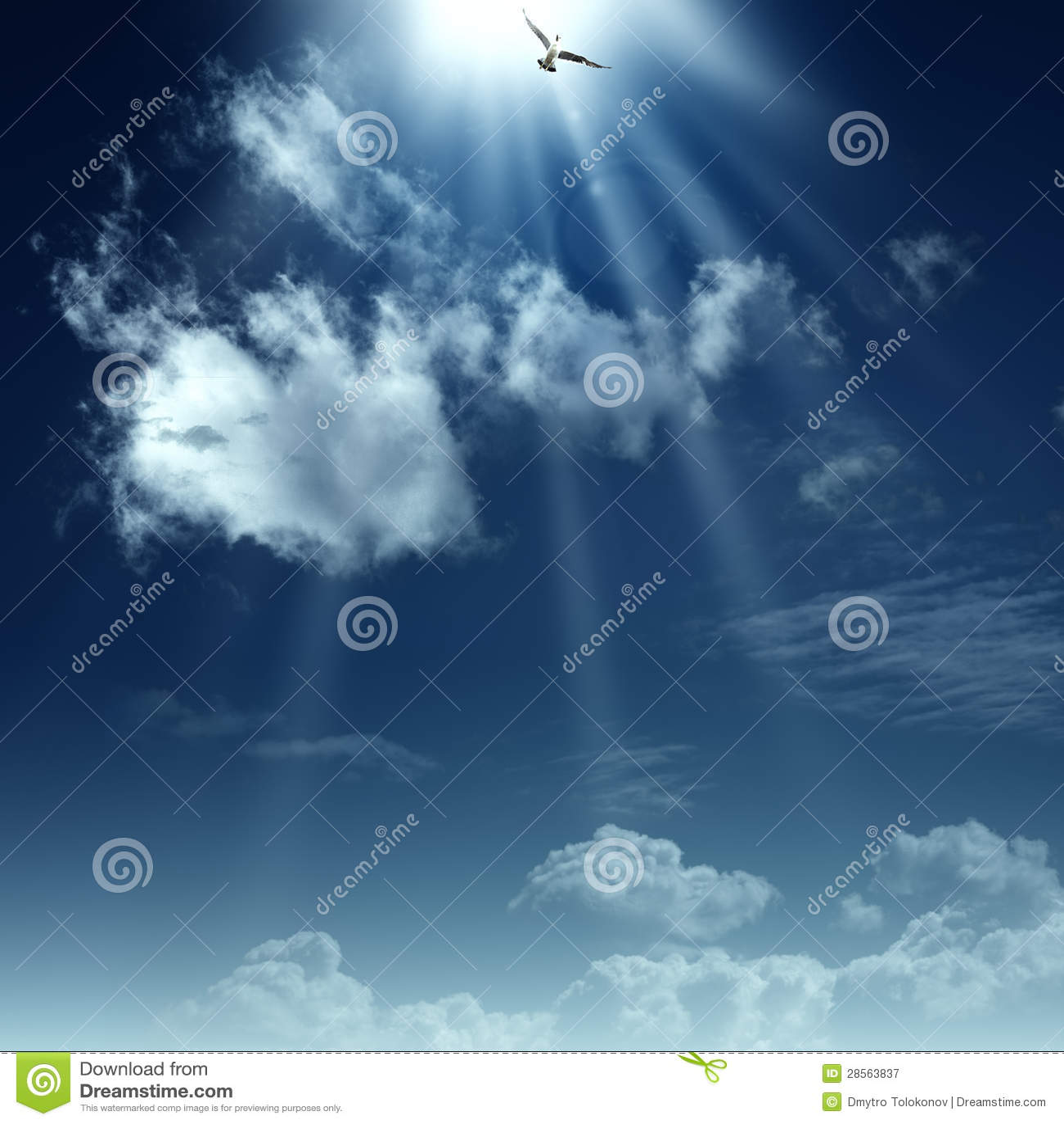 Chemin vers le ciel.