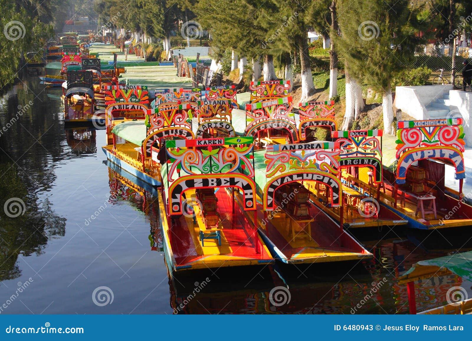 Chemine le xochimilco