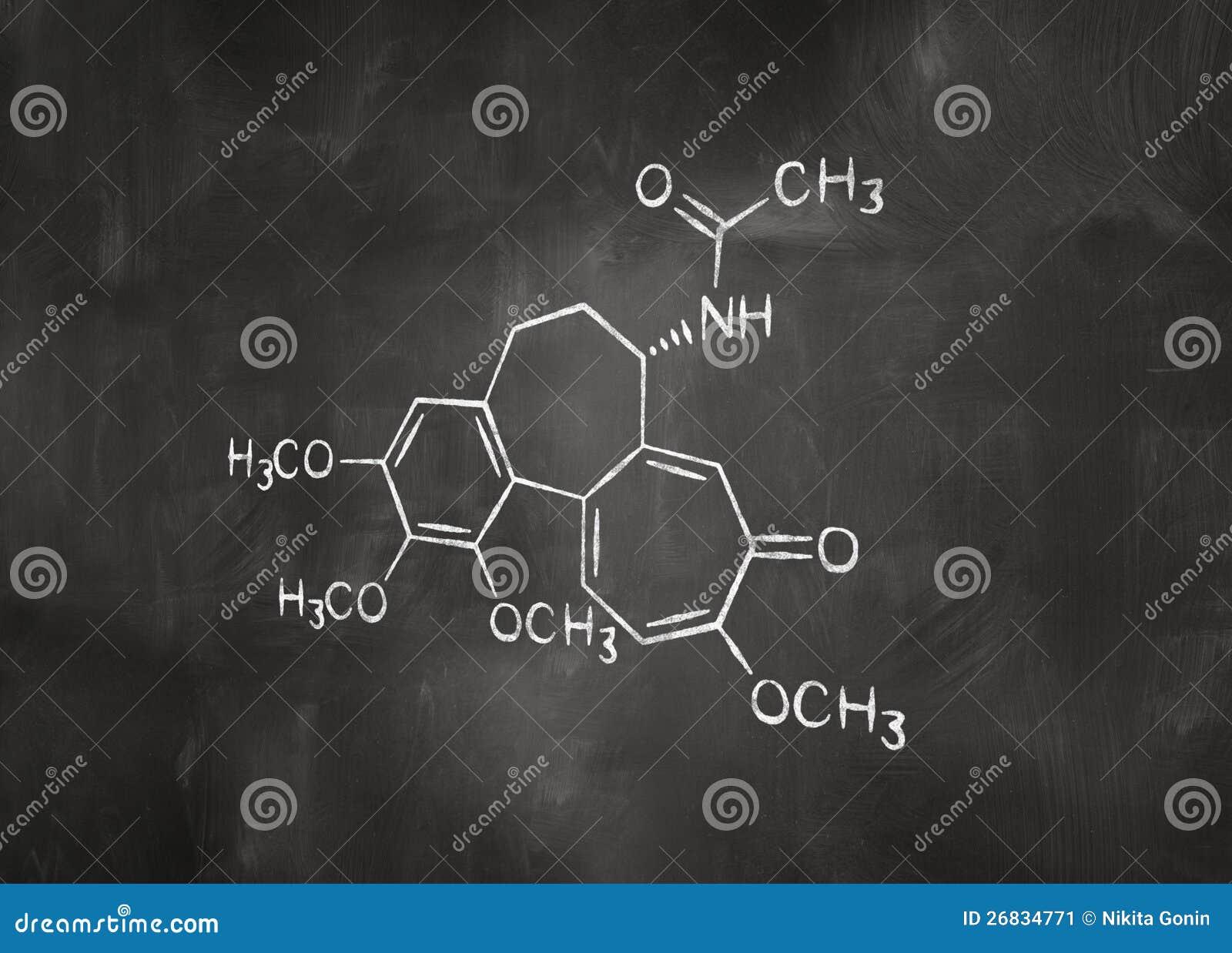 chemische formel auf tafel stockbild bild 26834771. Black Bedroom Furniture Sets. Home Design Ideas