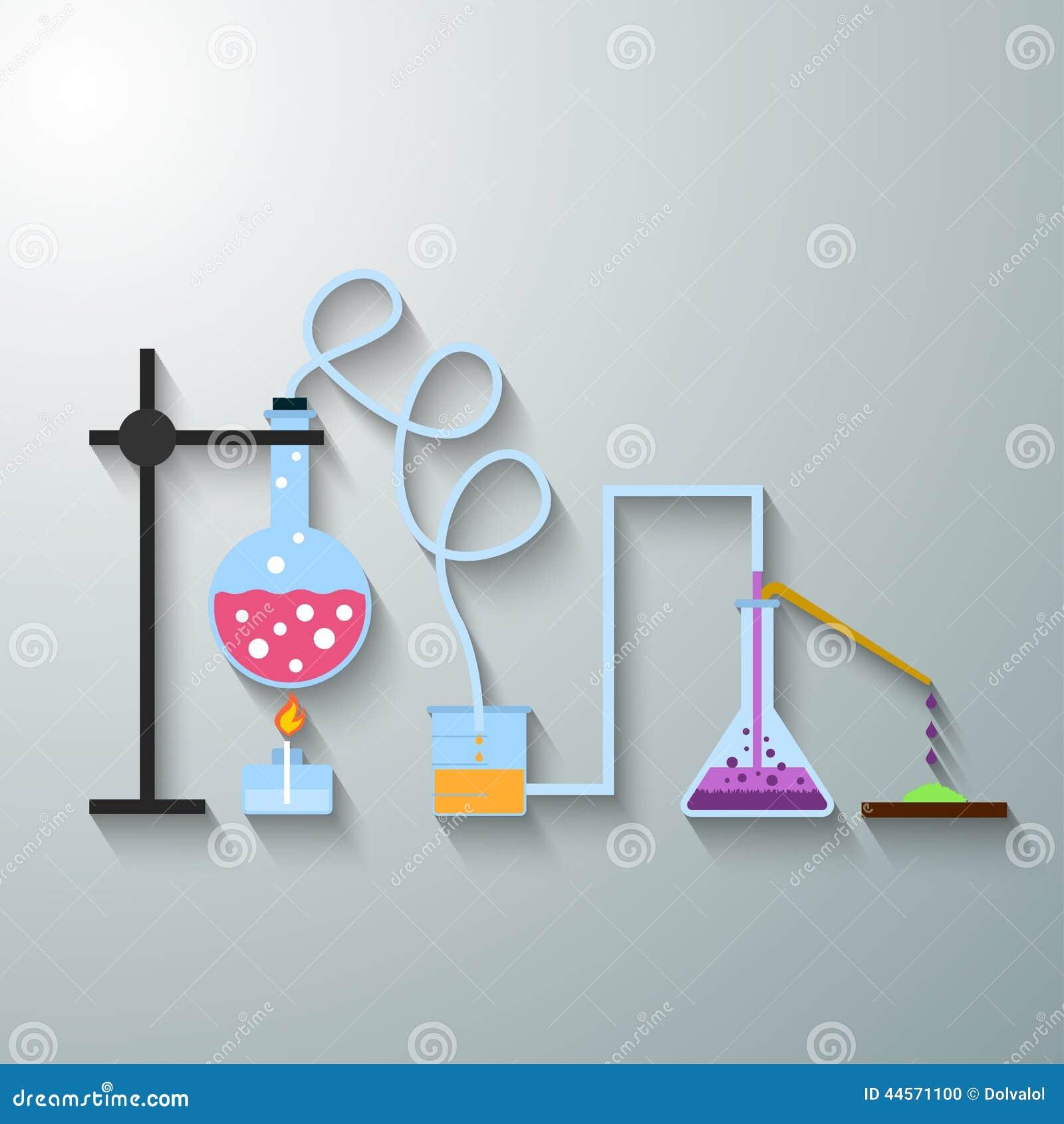 Chemische infographic