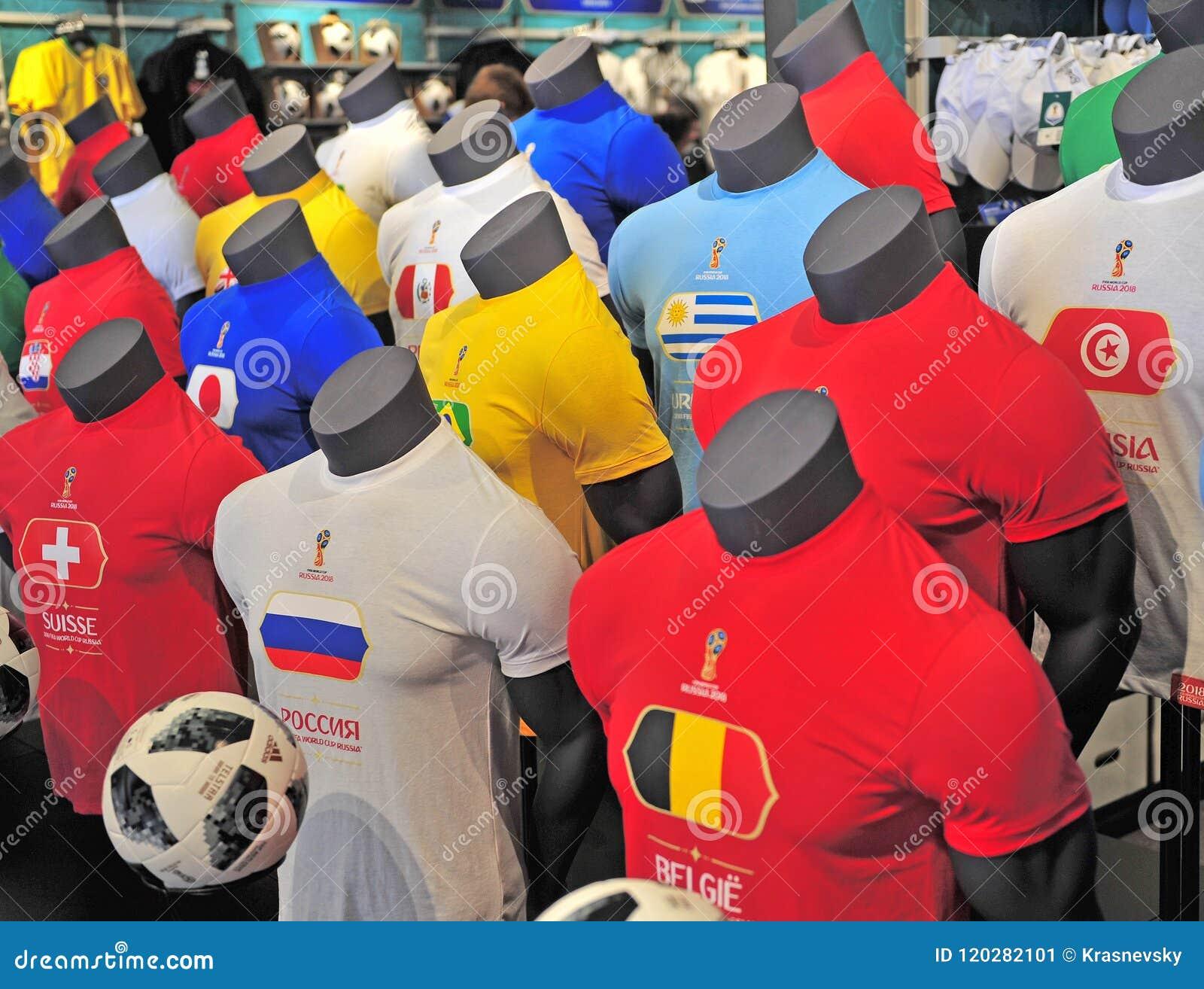 La Maison Du Monde Bilbao chemises à la maison du football de coupe du monde de la