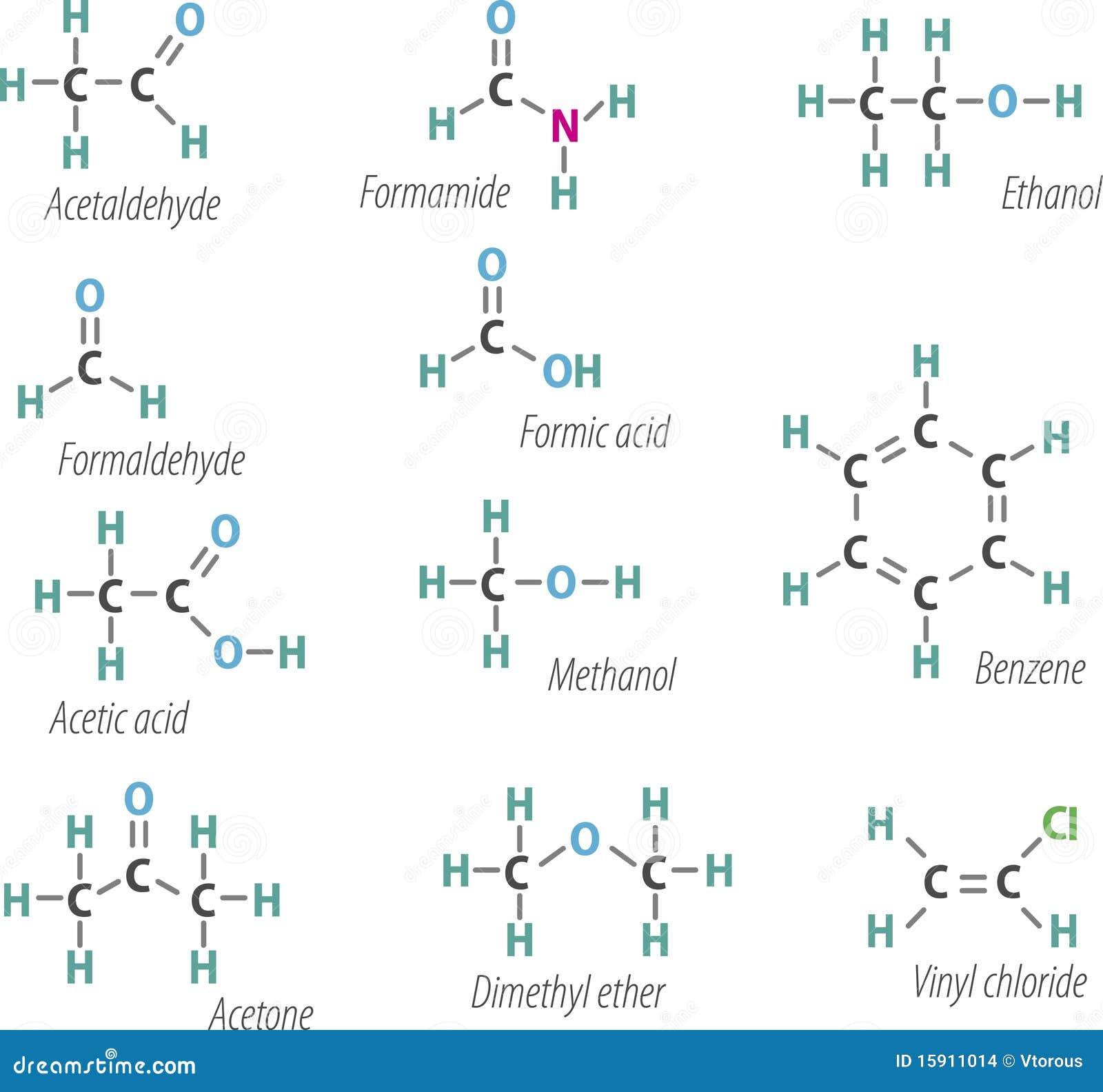 Chemistri Formulas Stock Images Image 15911014