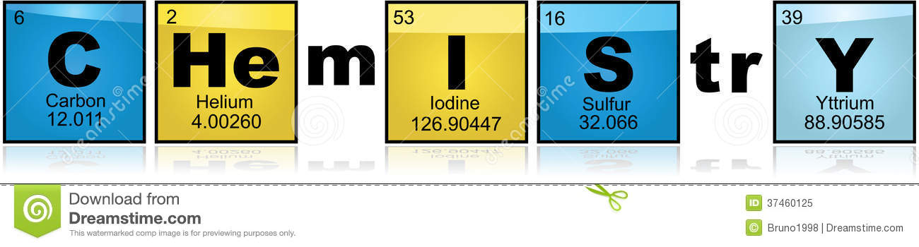 Chemistry With Elements Royalty Free Stock Photo - Image ...