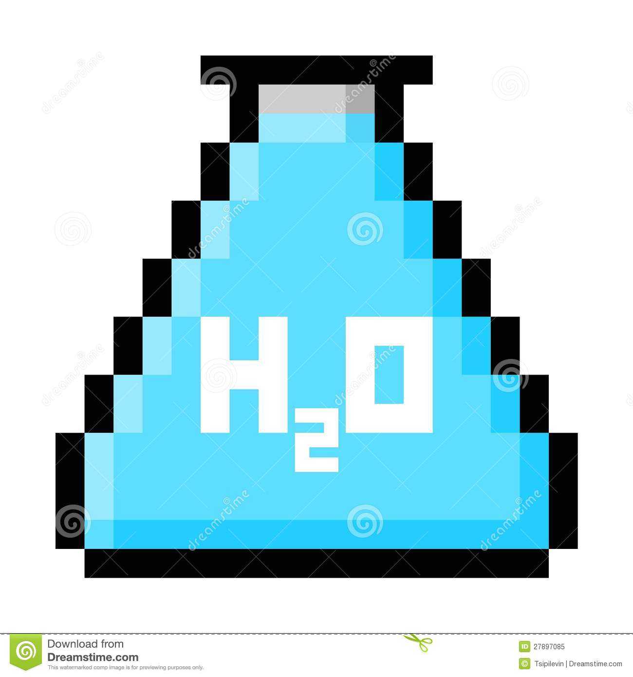 chemistry flask pixel art royalty free stock photo image water bottle clipart black and white water bottle clipart realistic