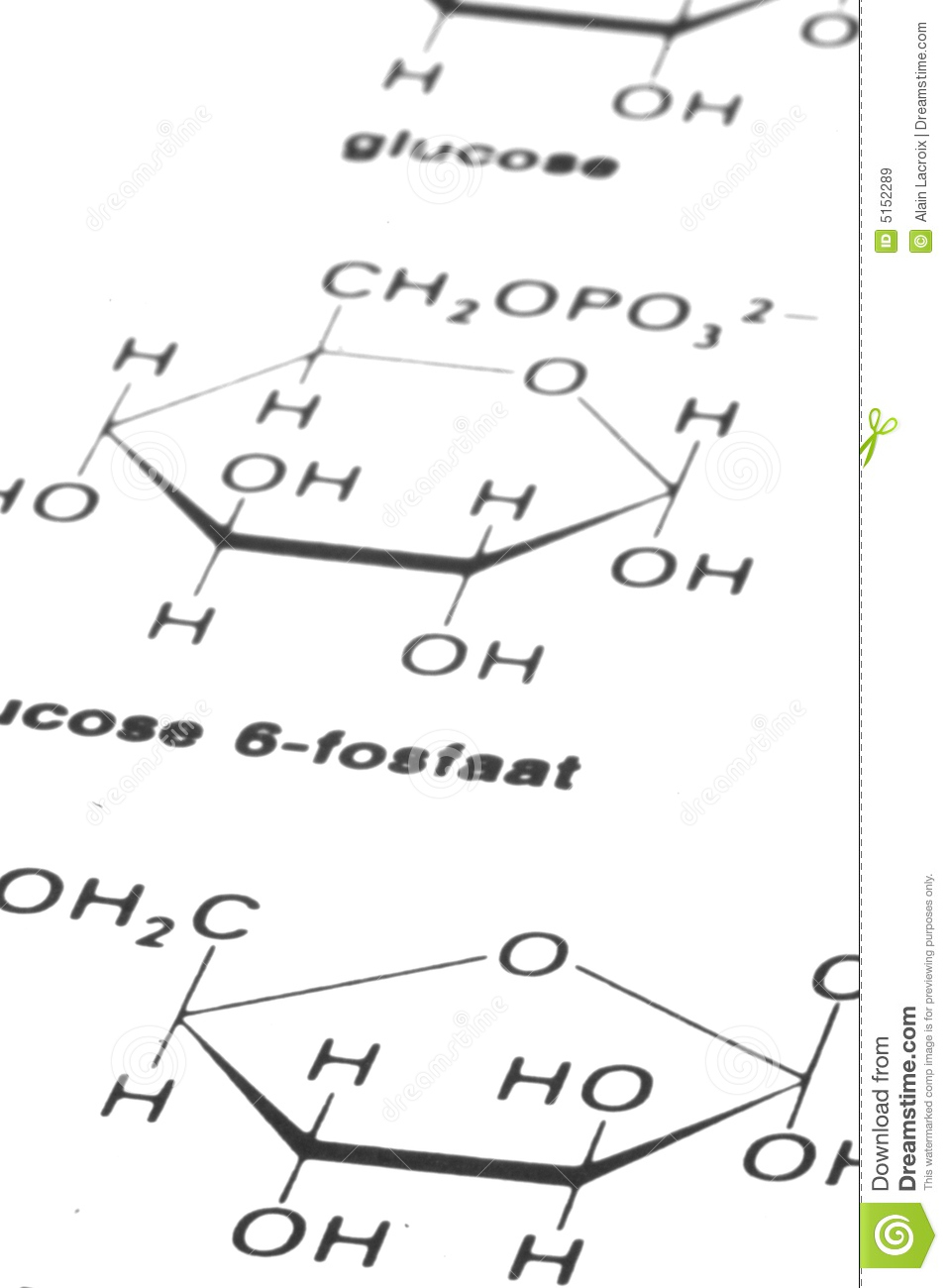 chemistry formulas royalty free stock images
