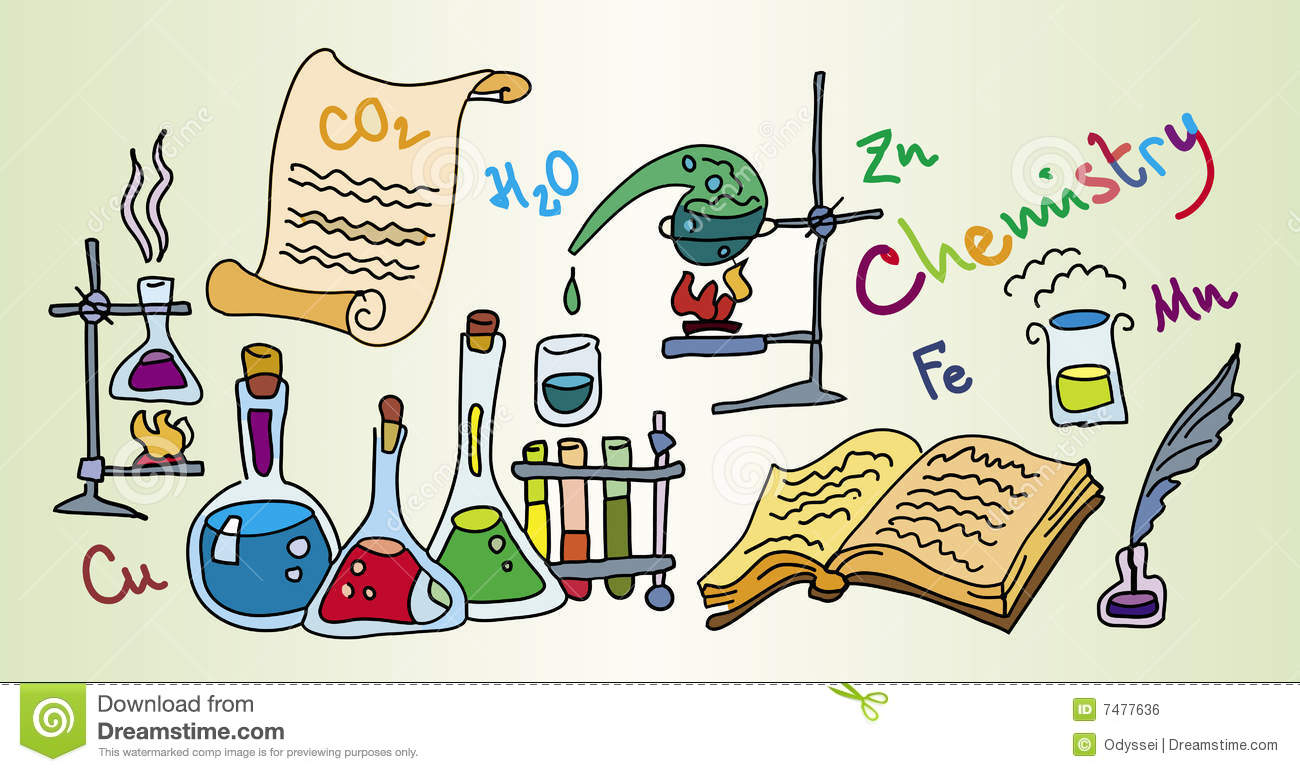 Chemistry Lab Stock Vector Illustration Of Reagent