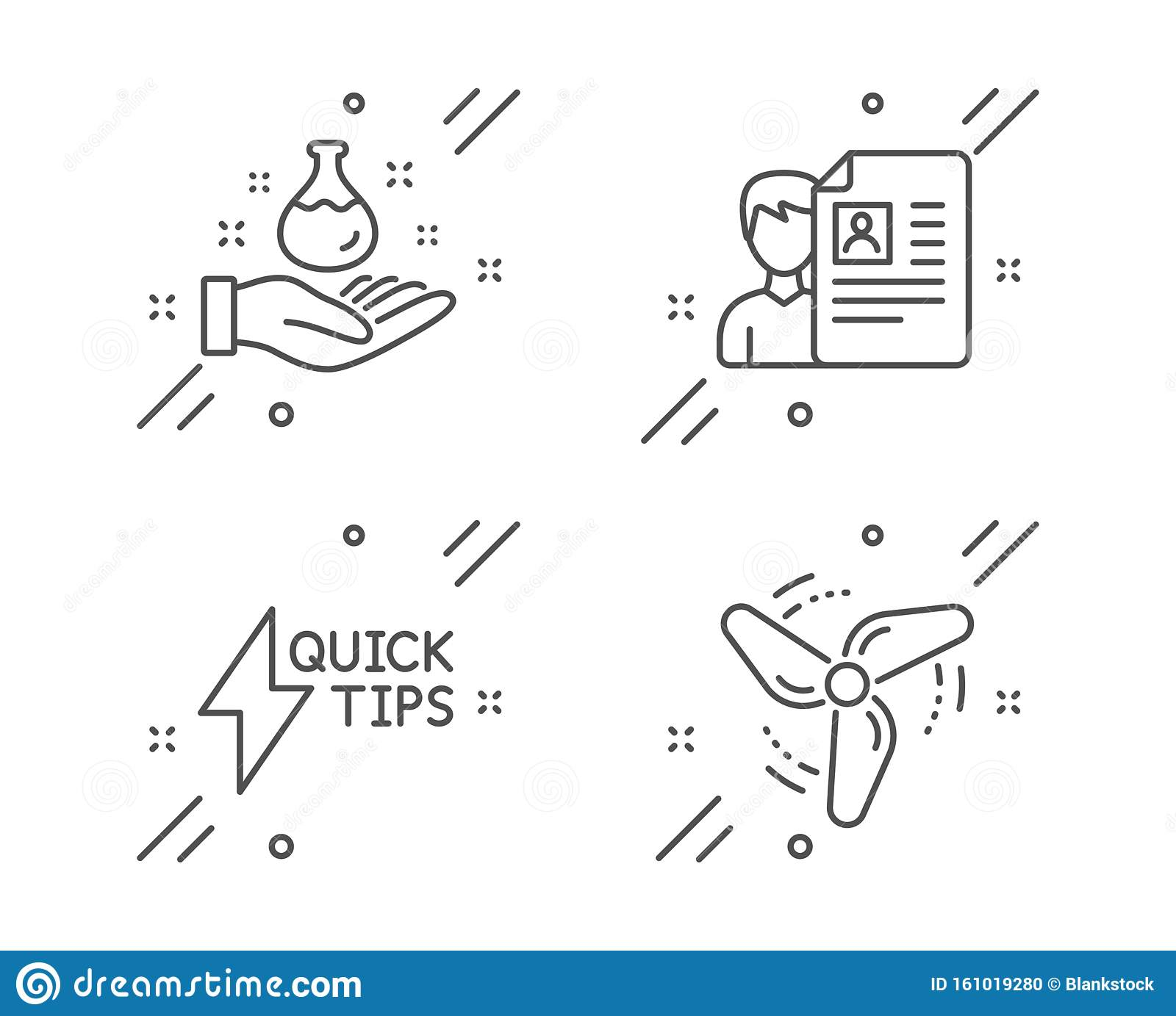 chemistry lab job interview and quickstart guide icons set wind energy sign vector stock vector illustration of glass resources 161019280 dreamstime com