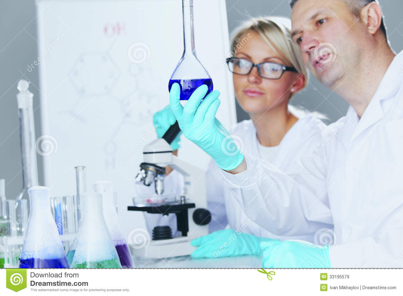 Lab chemistry experiments