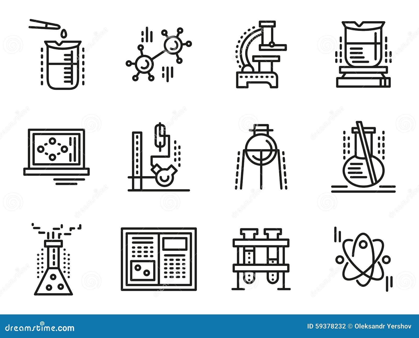 Lab equipment symbols image collections symbol and sign ideas lab equipment symbols gallery symbol and sign ideas chemistry symbols simple line icons set stock illustration buycottarizona