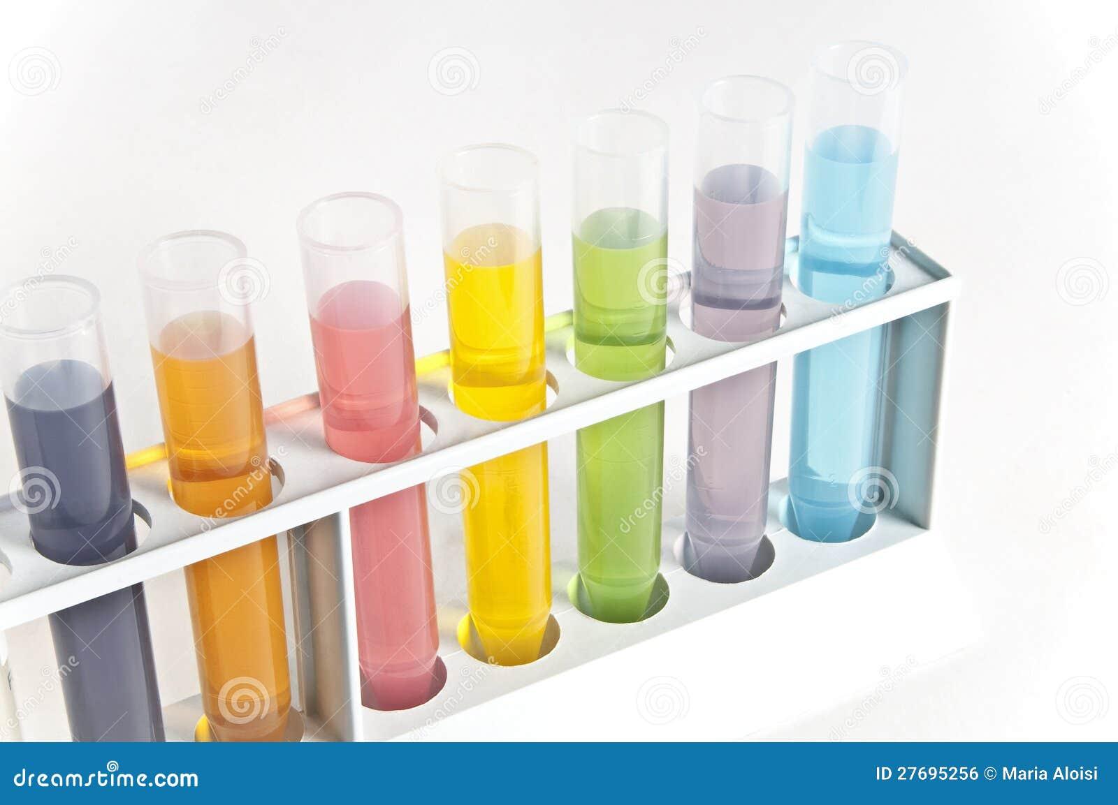 Chemistry Test Tubes Royalty Free Stock Image - Image ...
