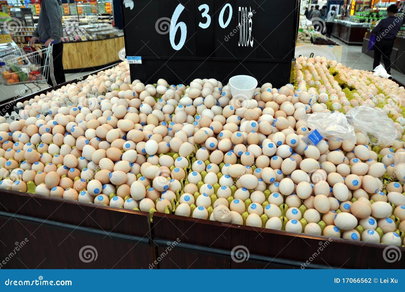 Walmart Corporate Contact >> Chengdu, China: Egg Display At Walmart Supermarket Editorial Photography - Image: 17066562