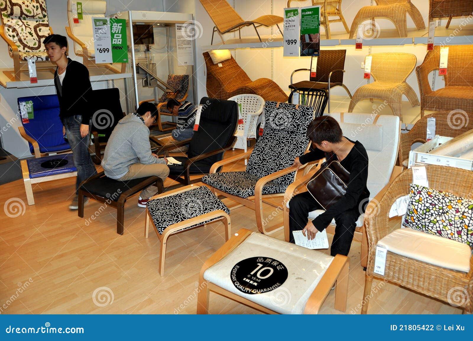 Chengdu, China: El hacer compras en IKEA
