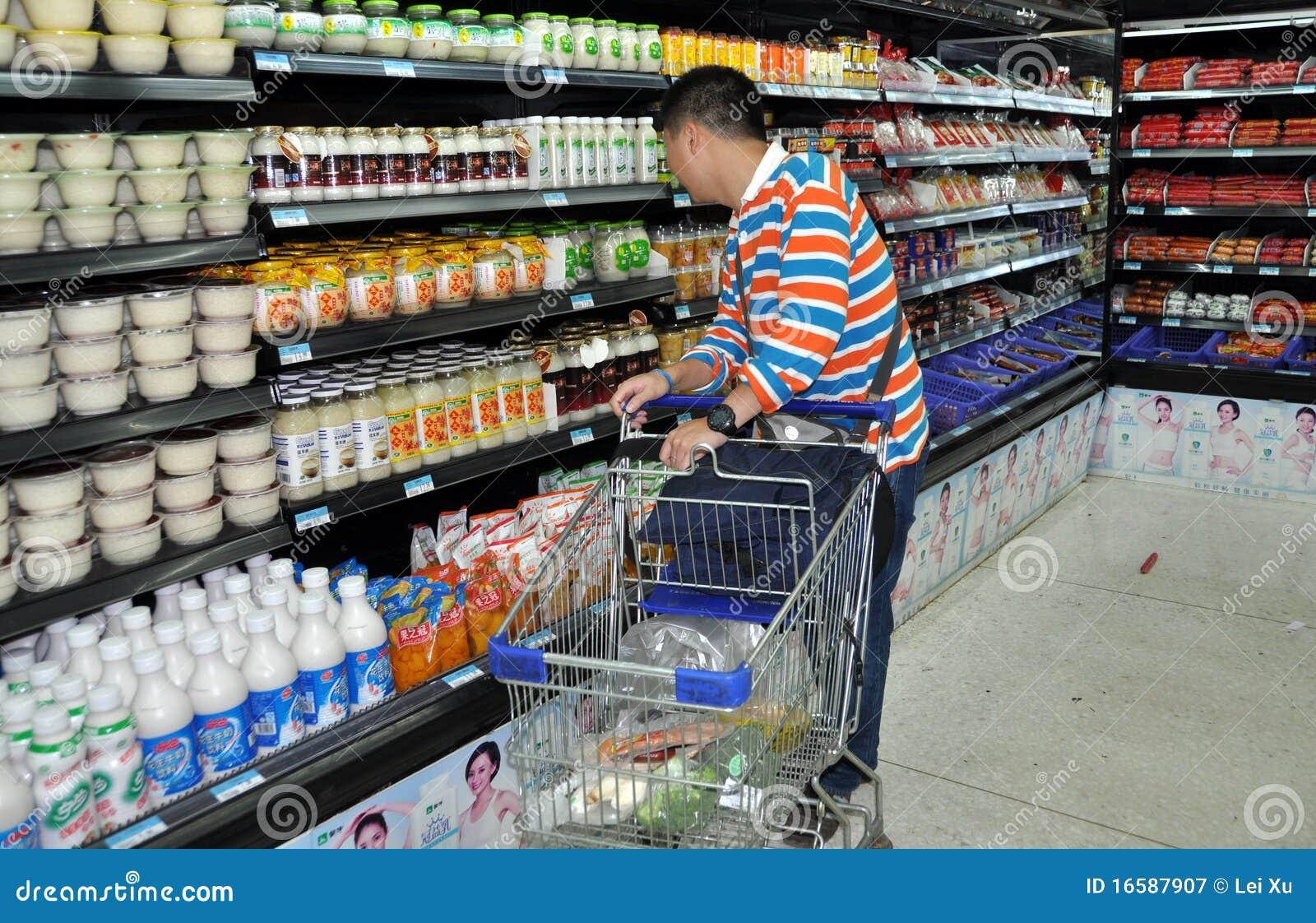 Mann im supermarkt kennenlernen