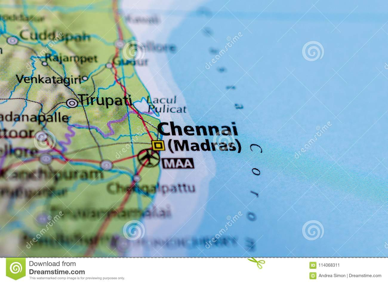 Chennai or Madras on map stock image. Image of papers ... on highway state map, punjab state map, london state map, singapore state map, washington state map, bengal state map, rome state map, dallas state map, salem state map, uttar pradesh state map, jaipur state map, assam state map, gujarat state map, burma state map, delhi state map, ontario state map, goa state map,
