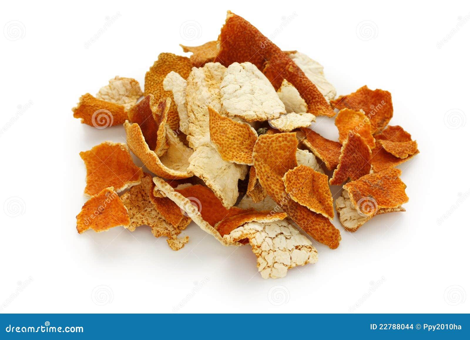 Chenpi, buccia secca del mandarino, cinese tradizionale lui
