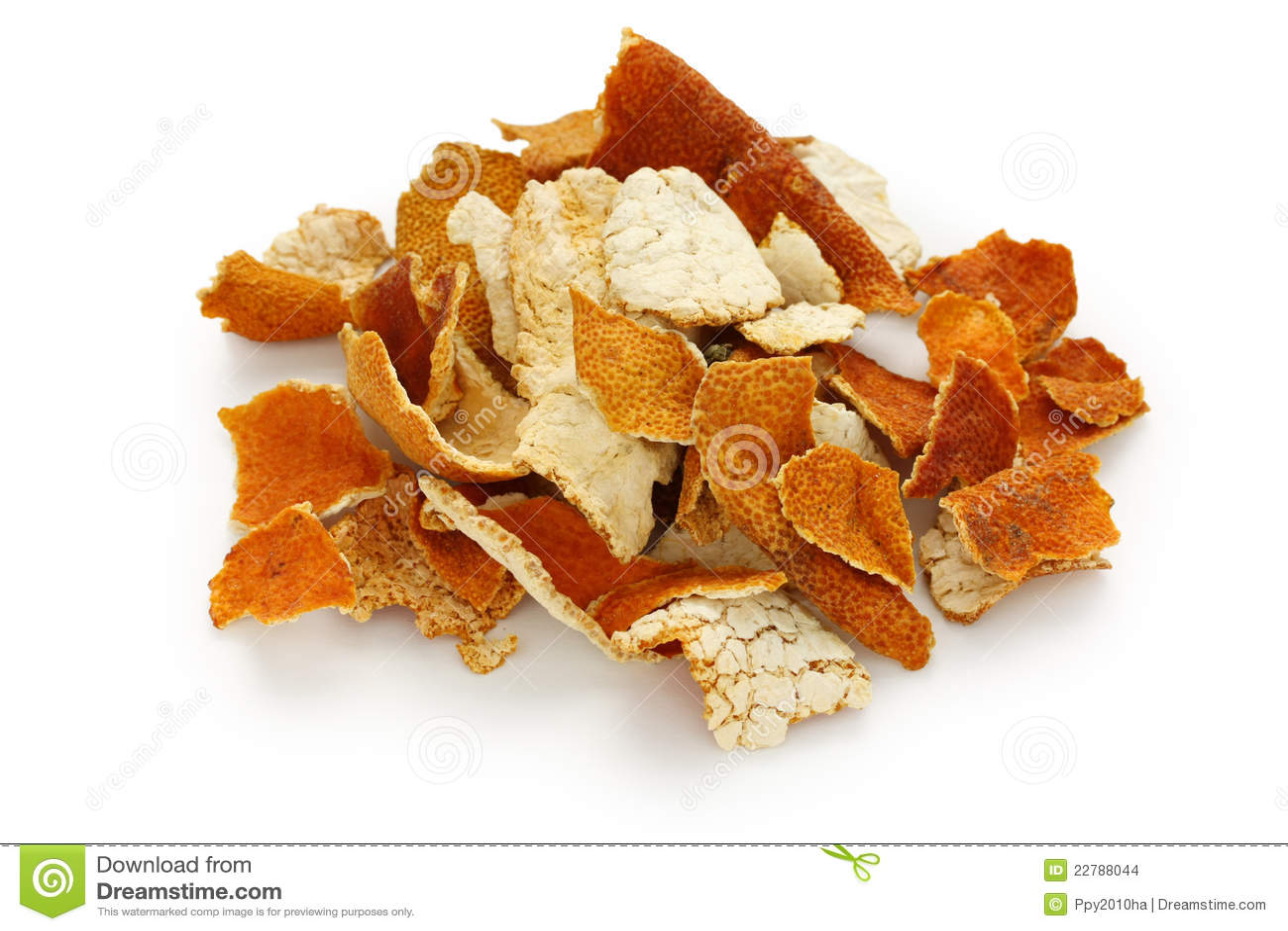 Chenpi, cáscara secada de la mandarina, chino tradicional él