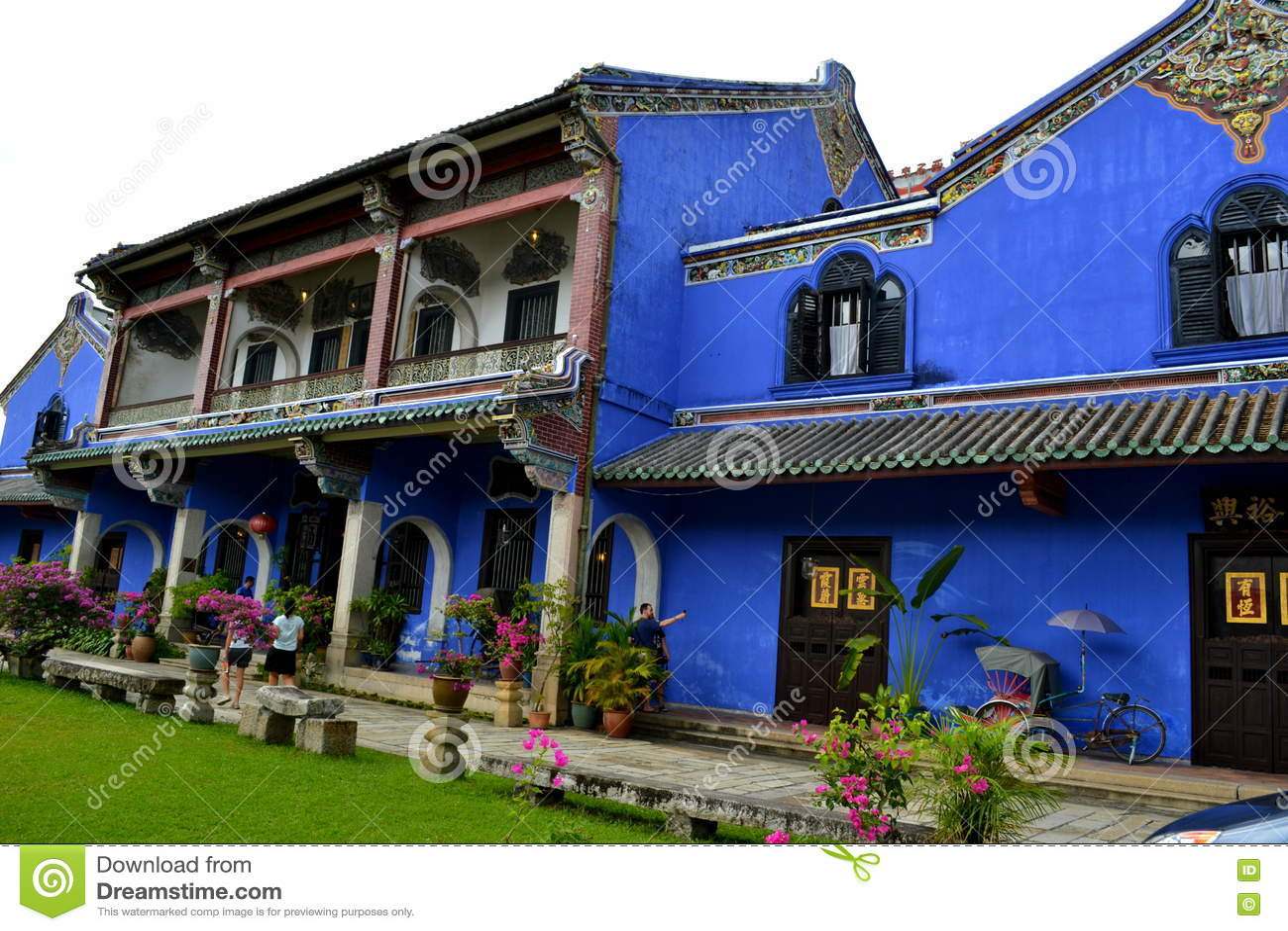 Cheong Fatt Tze - den blåa herrgården
