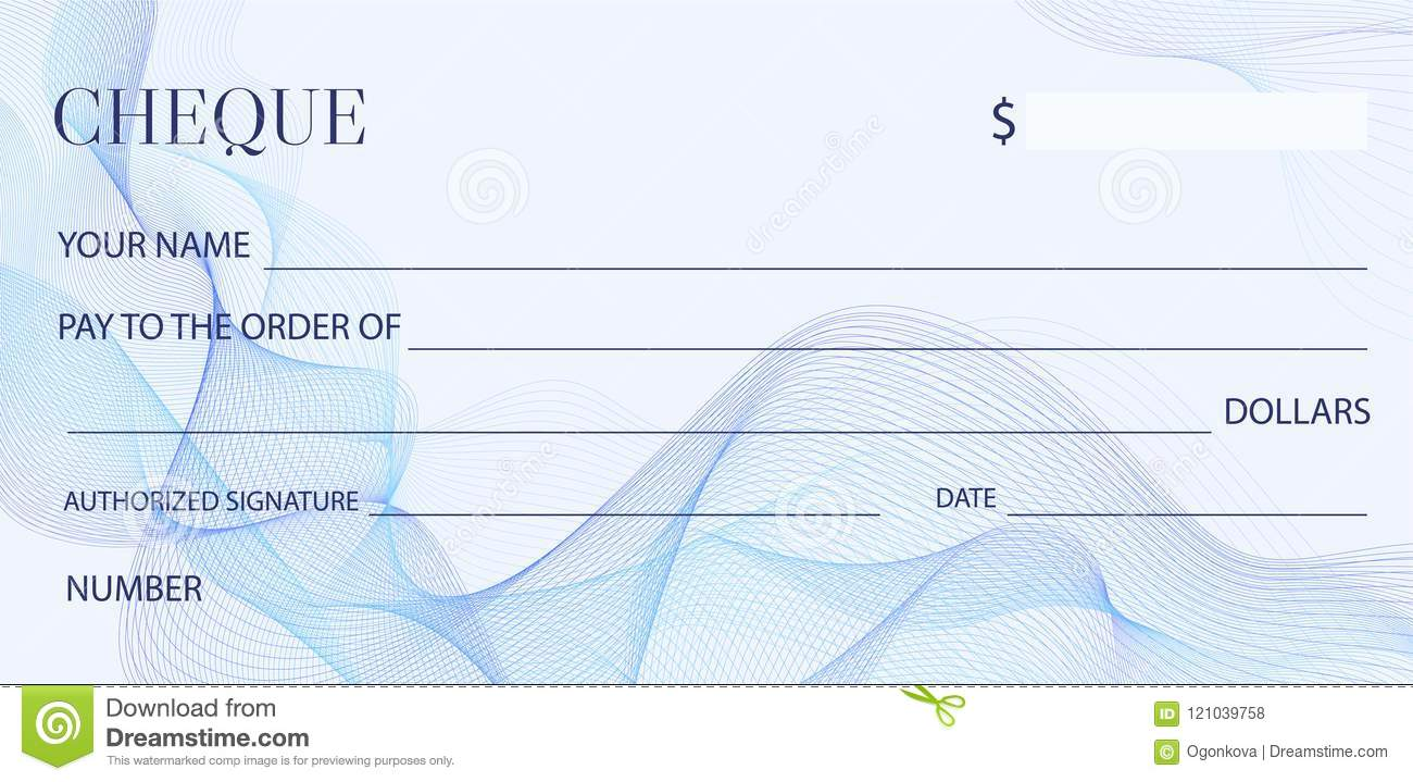 cheque check template chequebook template blank bank cheque with