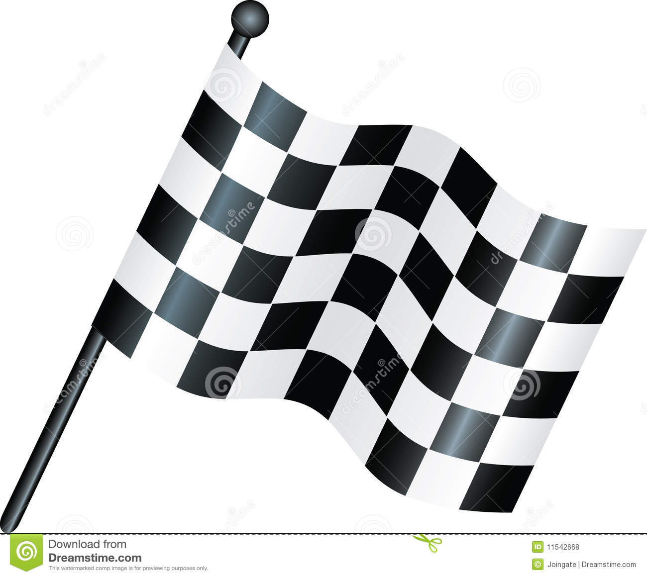Chequered Flag Royalty Free Stock Photos - Image: 11542668