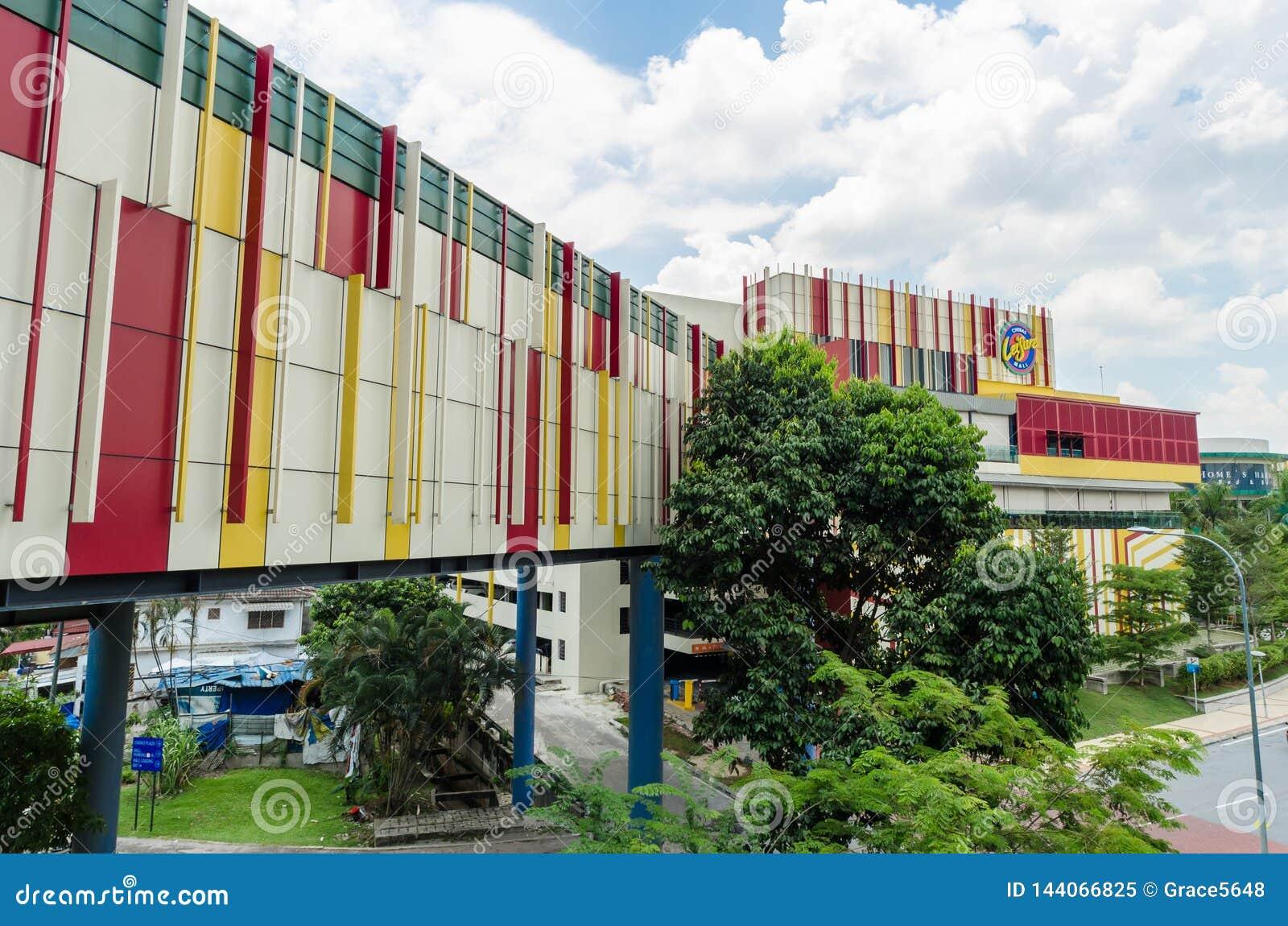 Cheras-Freizeit-Mall ist zu einer vibrierenden Mischung des Einzelhandels, Freizeit Haupt, Unterhaltung und Speisenausg?nge