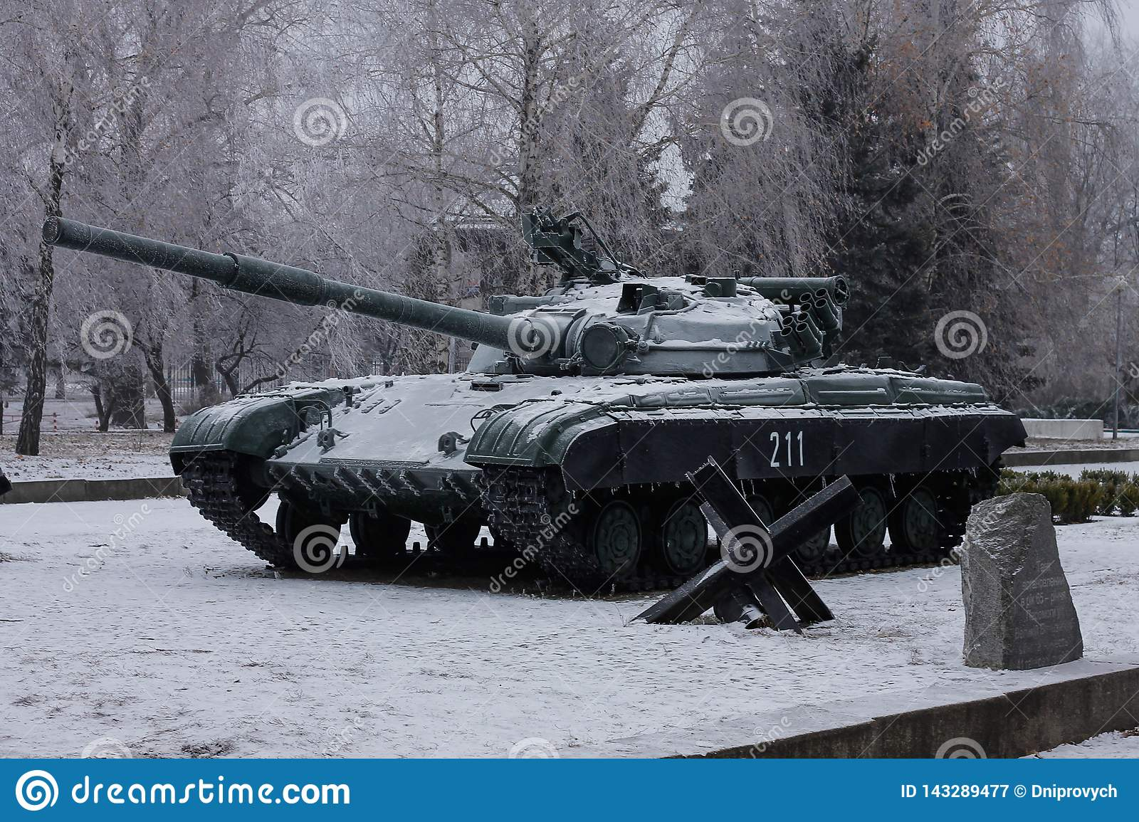 The T-64 is a Soviet second-generation main battle tank
