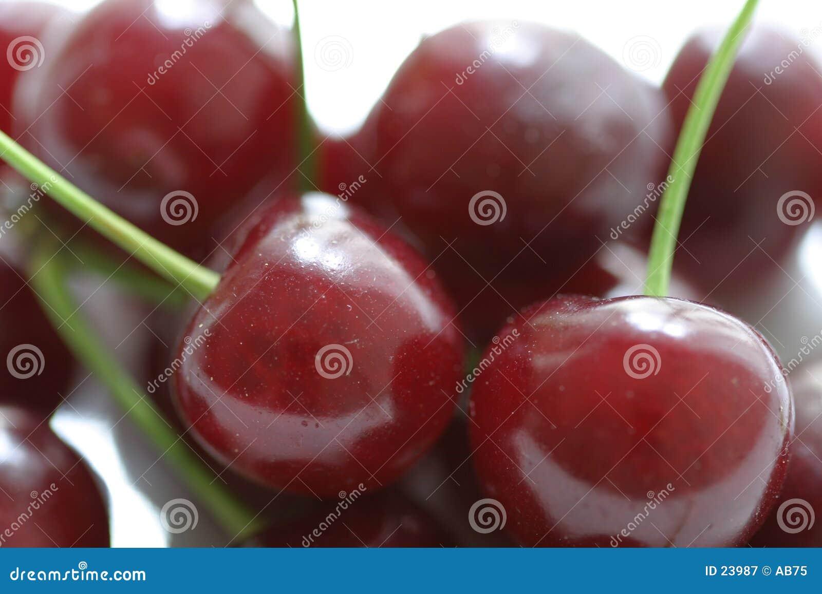 Cherries on stems