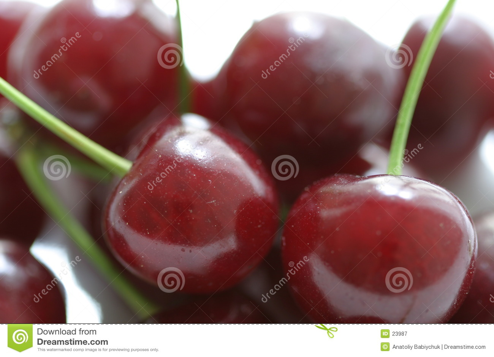 Cherry łodygi