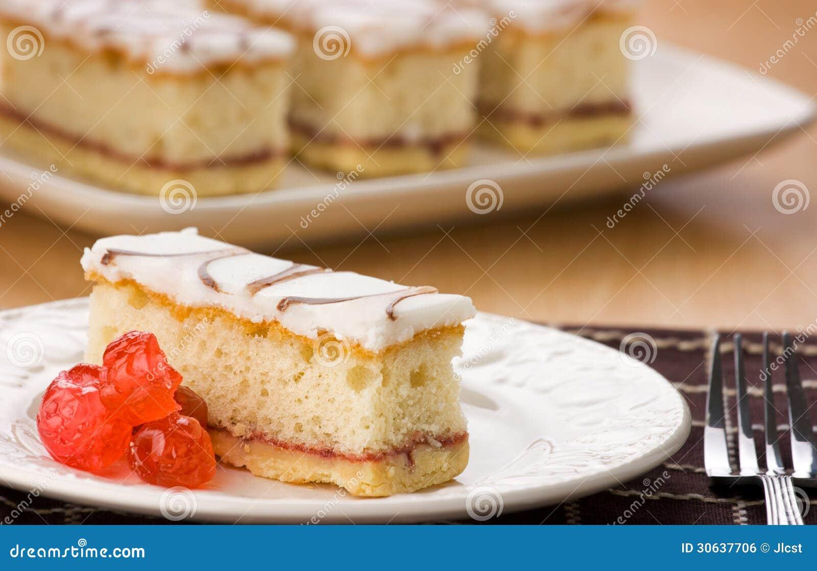 Cake Eggs White Glazed