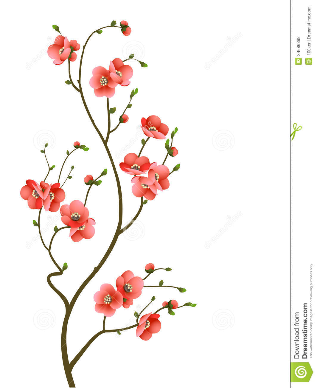 ... Branch Abstract Background Royalty Free Stock Images - Image: 24686399