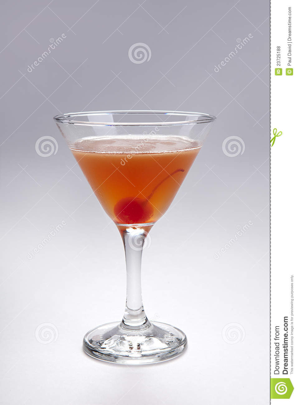 Cherry Cocktail Royalty Free Stock Photos - Image: 23725188