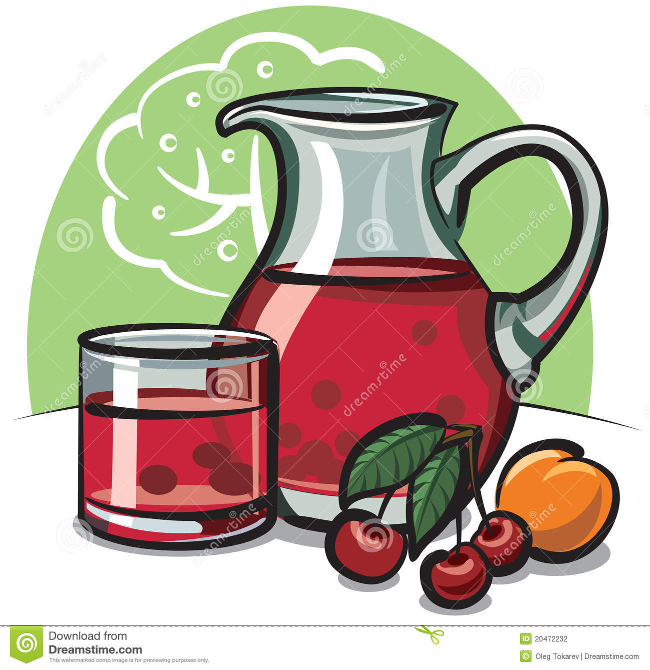 Cherry Compote Stock Photography - Image: 20472232