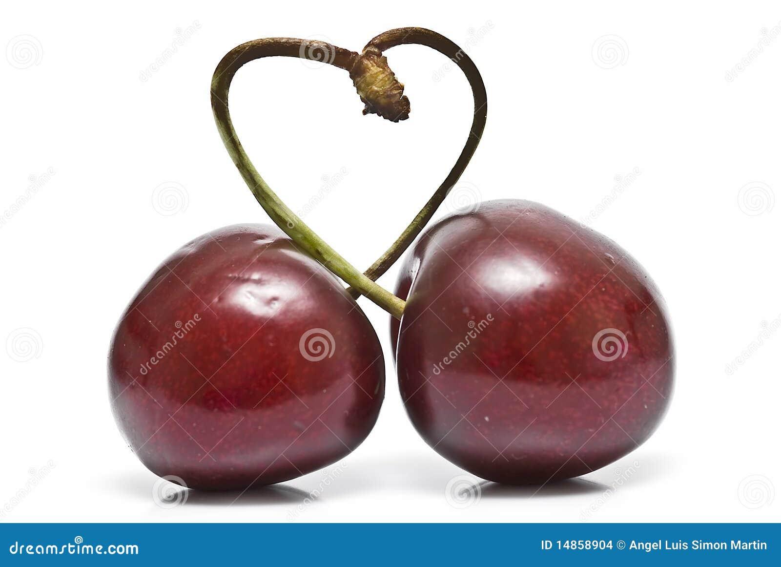 A cherry heart.
