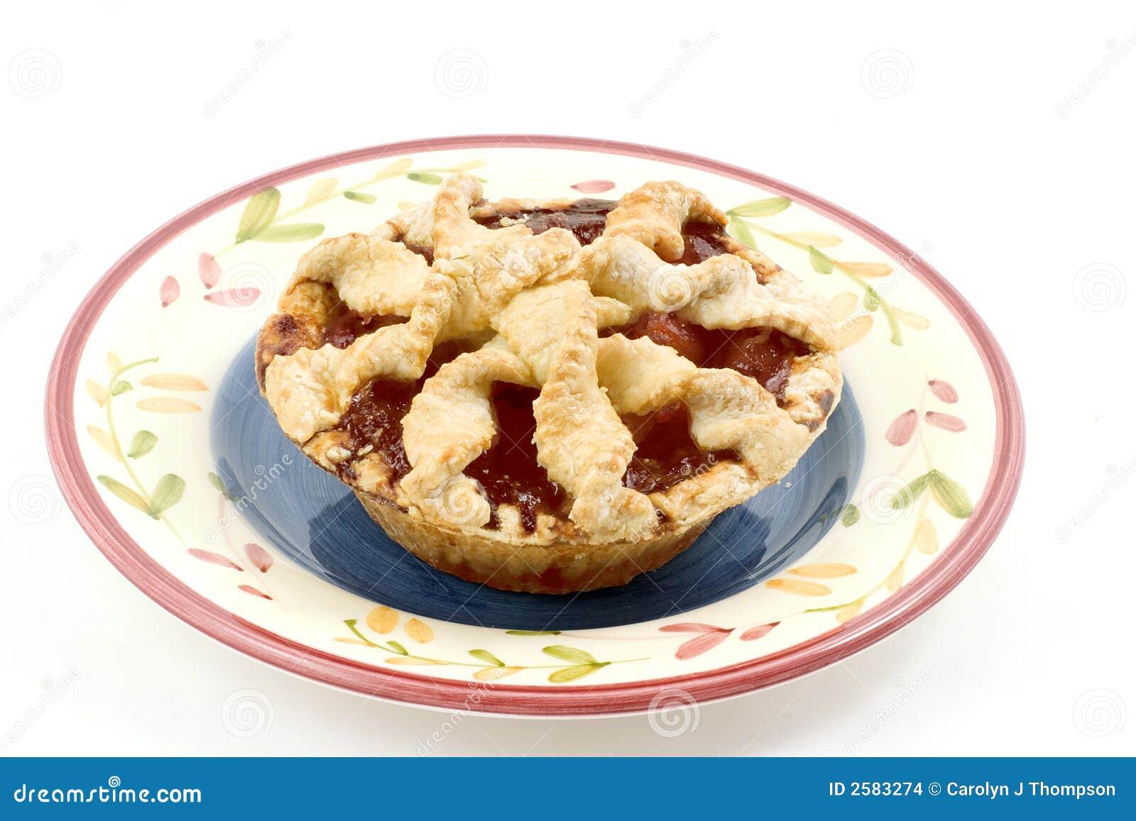 Cherry Peach Pie Stock Images - Image: 2583274