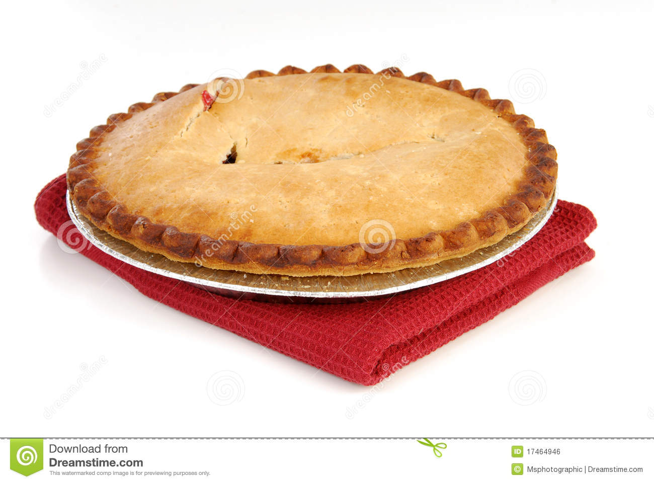 Cherry Pie Royalty Free Stock Image - Image: 17464946