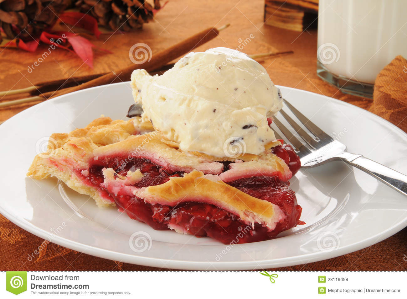 Cherry pie ala mode