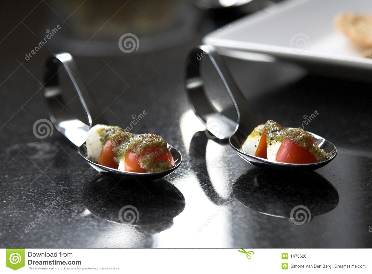 Cherry Tomato Amuse Bouche Stock PhotoImage1478620